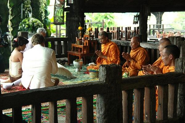 традиционная свадьба в Тайланде