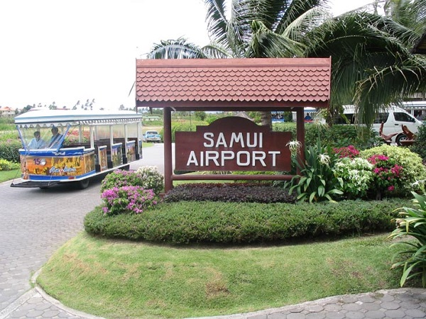 Аэропорт Самуи в Тайланде