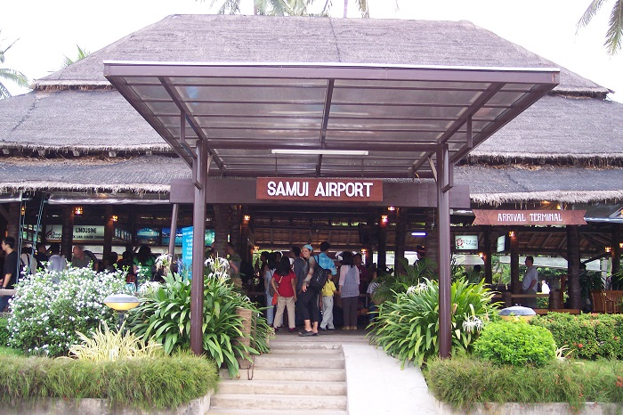 Аэропорт Самуи Тайланд