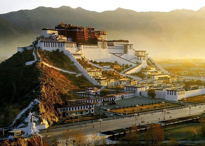 Столица Тибета - Лхаса