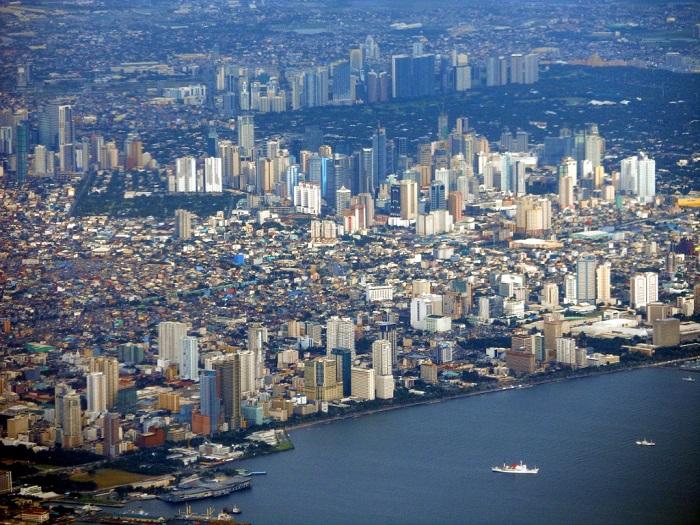 Манила с высоты