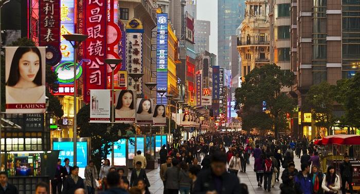 Шанхай улицы