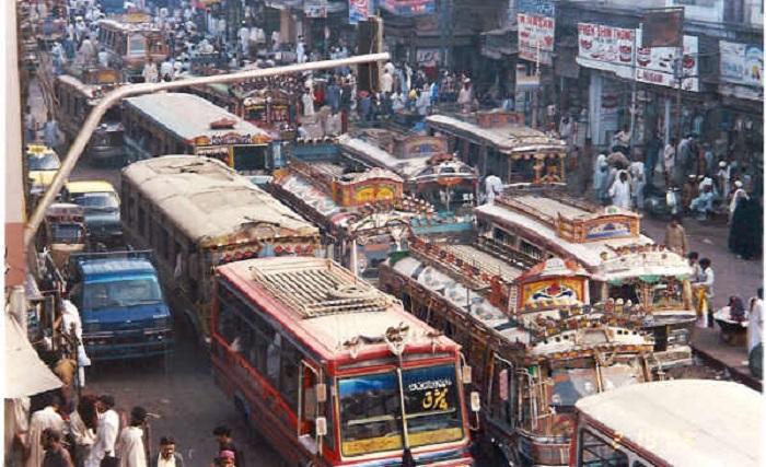 Карачи улицы