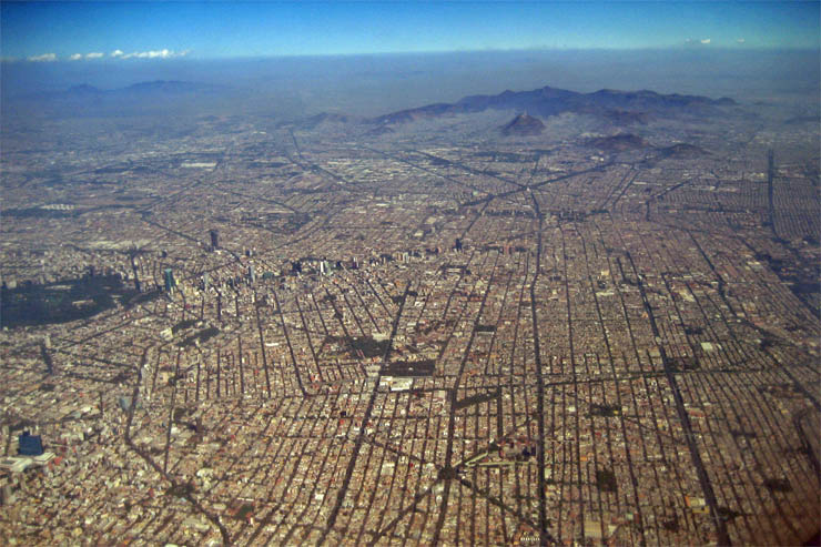 Кварталы Мехико