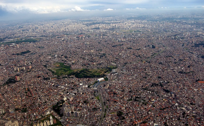 Самый большой город в Южной Америке