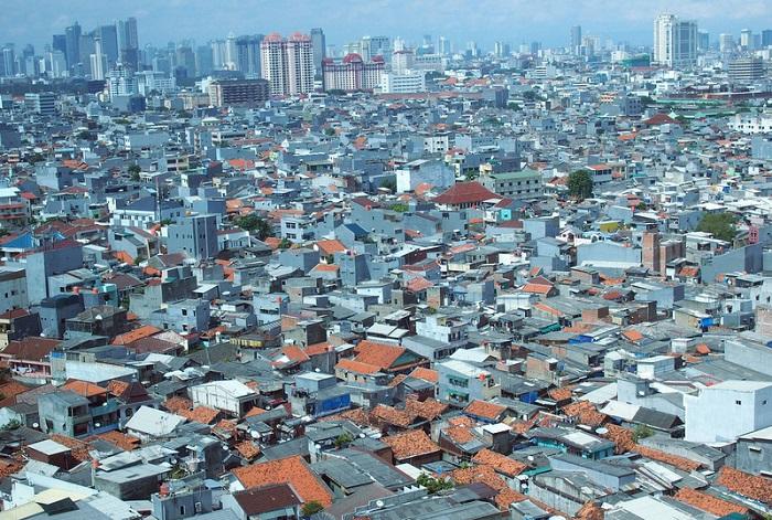 трущобы Джакарта