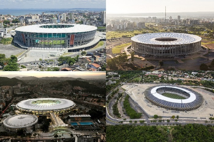 Чемпионат Мира в Бразилии стадионы
