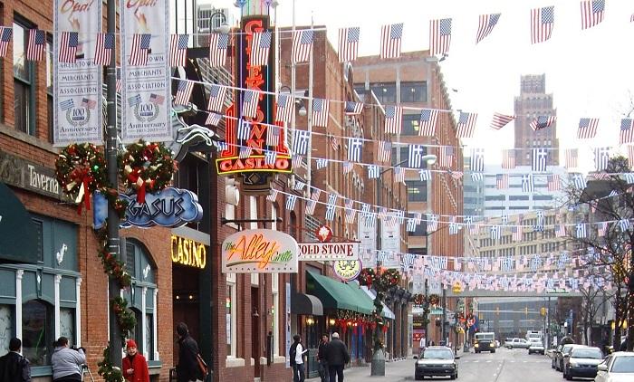 Greektown In Detroit