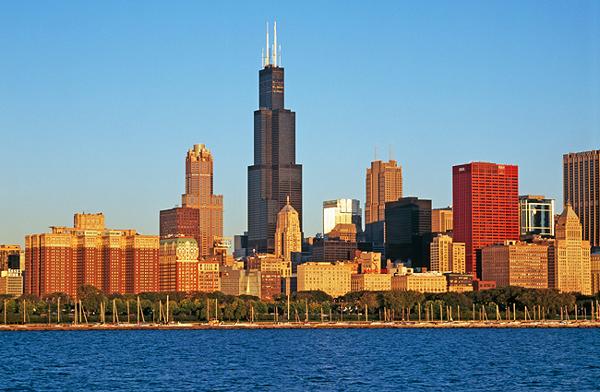 Чикаго - небоскрёб