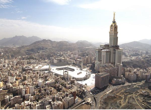 Мекка самое высокое здание
