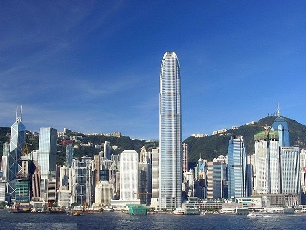 Гонконг небоскрёбы
