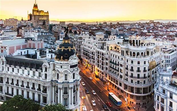 Мадрид - самые большие города Европы