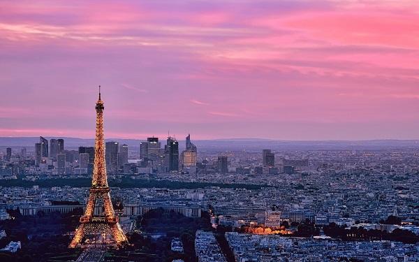 Париж - самые большие города Европы