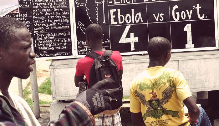 болезнь Эбола в Африке
