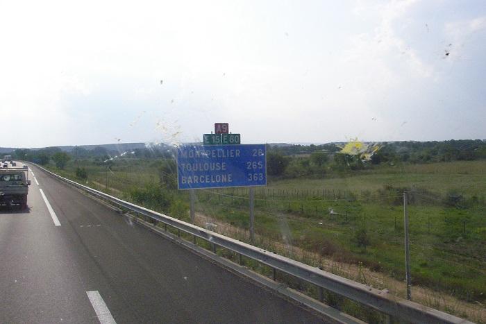 Автостопом во Франции