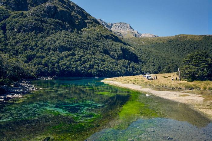 озеро в Новой Зеландии