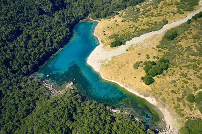 озеро в Зеландии