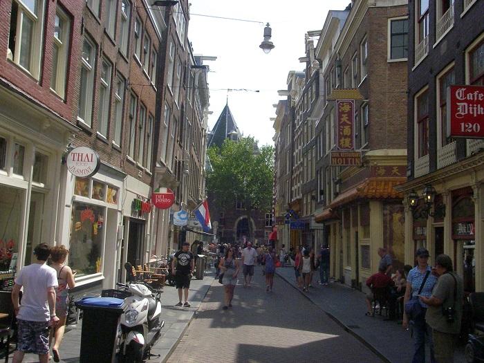 Амстердам автостопом
