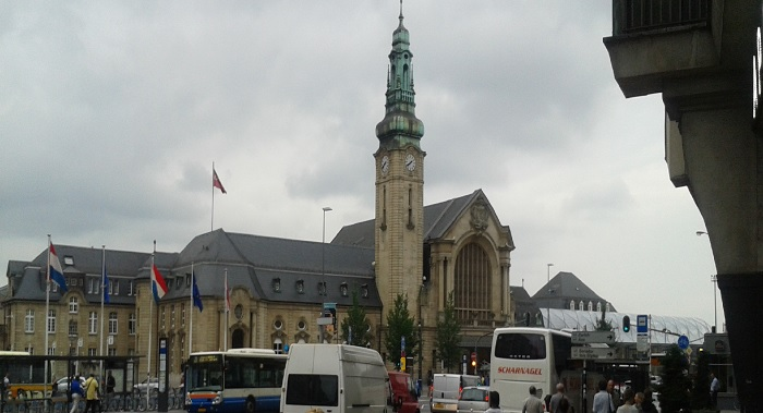 Железнодорожный вокзал Люксембурга