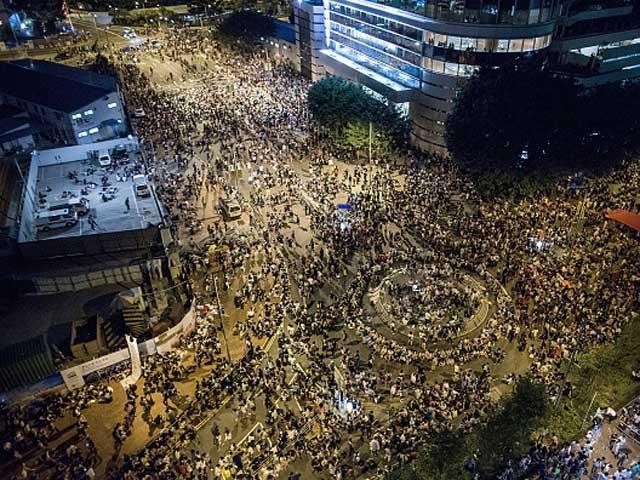 бунт в Гонконге