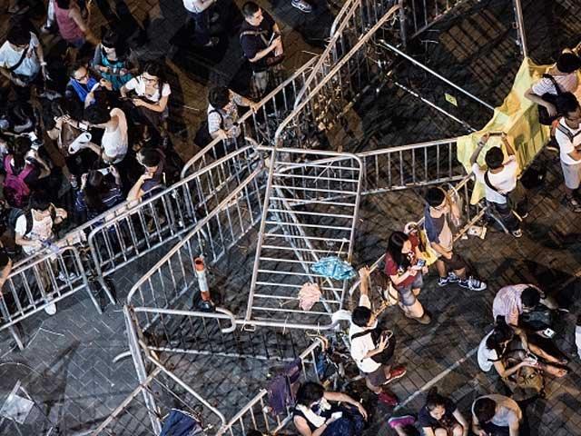 бунт в Китае