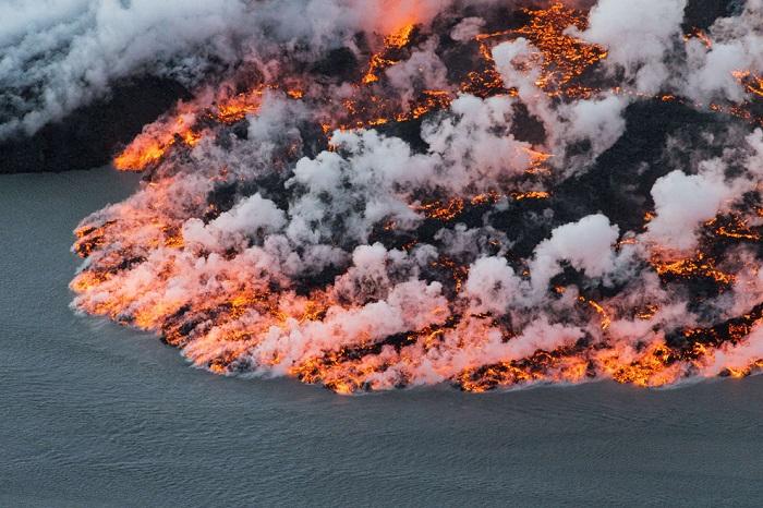 Вулкан в Исландии