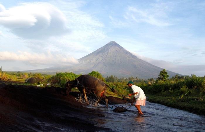 Вулкан на Филиппинах