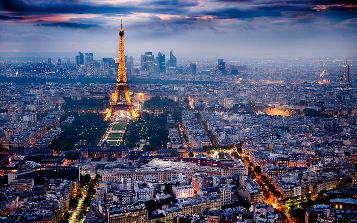 Франция, Париж, Эйфелевая башня