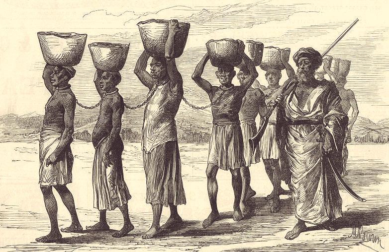 Рабство во Франции / первые эмигранты