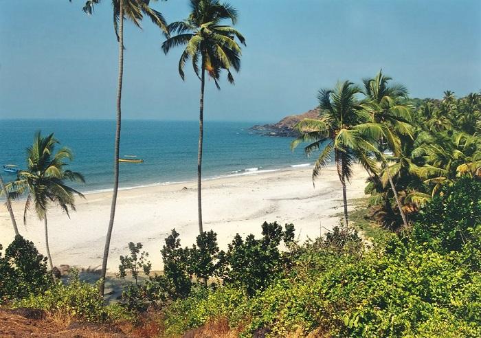 Кавелоссим Гоа пляж