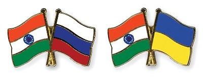 Украина Индия Россия