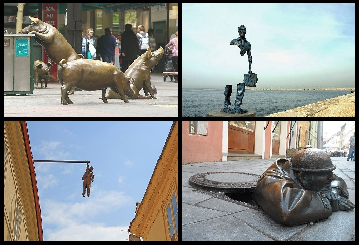 Интересные статуи