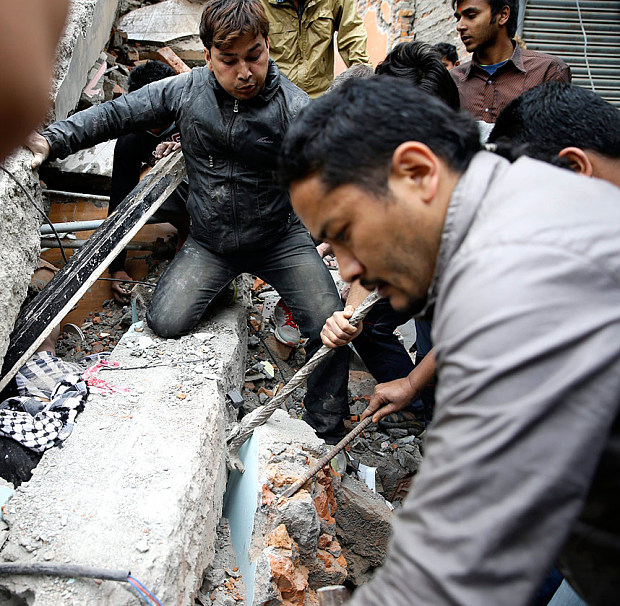 Непал землетрясение