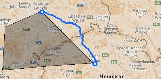 путешествия в Google Maps