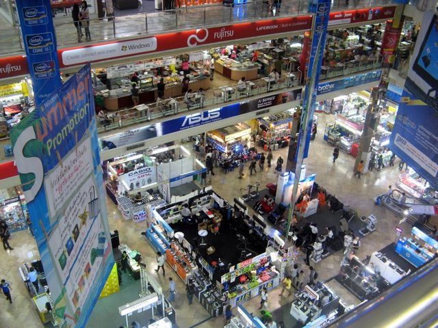 торговый центр в Бангкоке