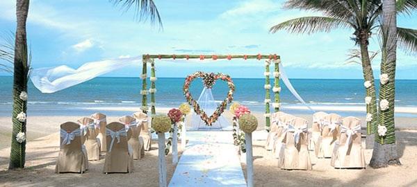 свадьба в Тайланде на пляже