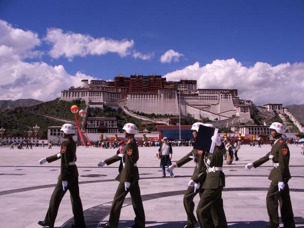 Китайская армия в Тибете