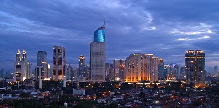 небоскребы в Джакарте