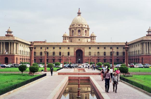 правительственное здание Индии