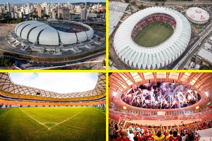 Стадионы Чемпионата Мира по футболу 2014