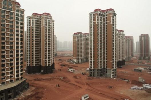 Пустые дома в Китае
