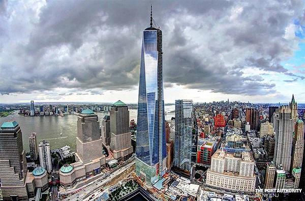 Всемирный торговый центр 1 Нью-Йорк