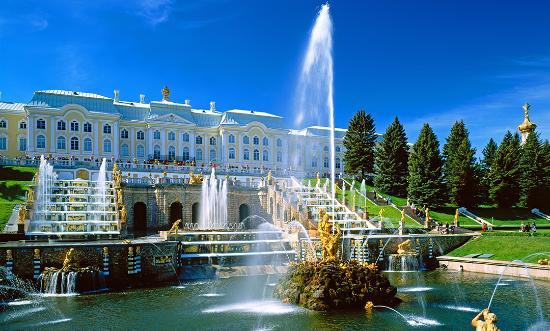 Санкт-Петербург—самые большие города Европы