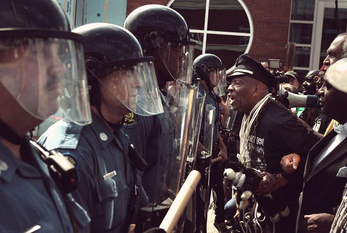 бунт в США