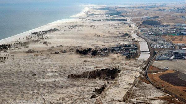 волны цунами в 2011 в Японии