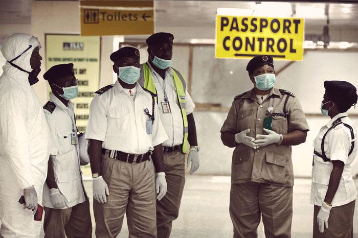 Эбола в Африке распространяется