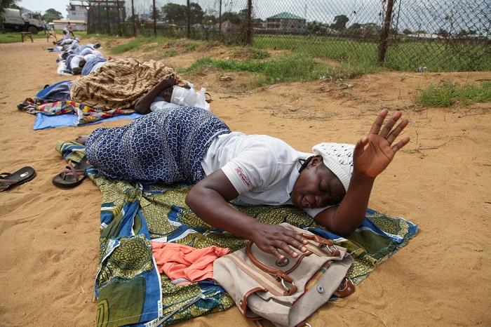 смертоносный вирус в Африке