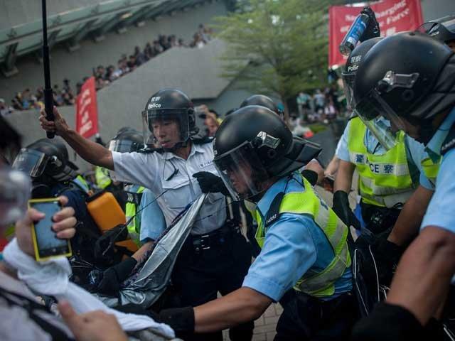 протест в Гонконге