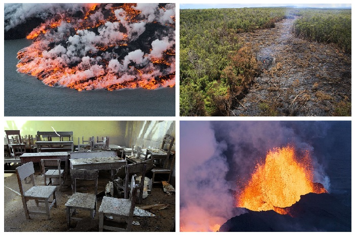 Извержения вулканов на Земле