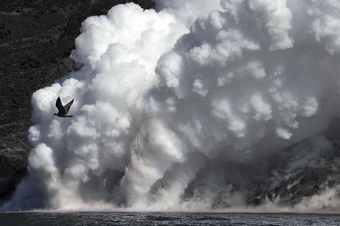 Вулкан в Италии